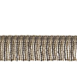 "Fabricut 2.5"" Porch Swing Bullion Fringe Pewter"