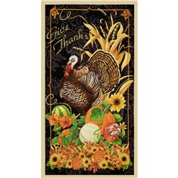 Harvest Time Large Panel Multi