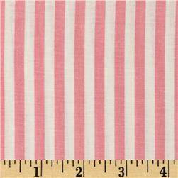 Basic Training Stripe Pink/White