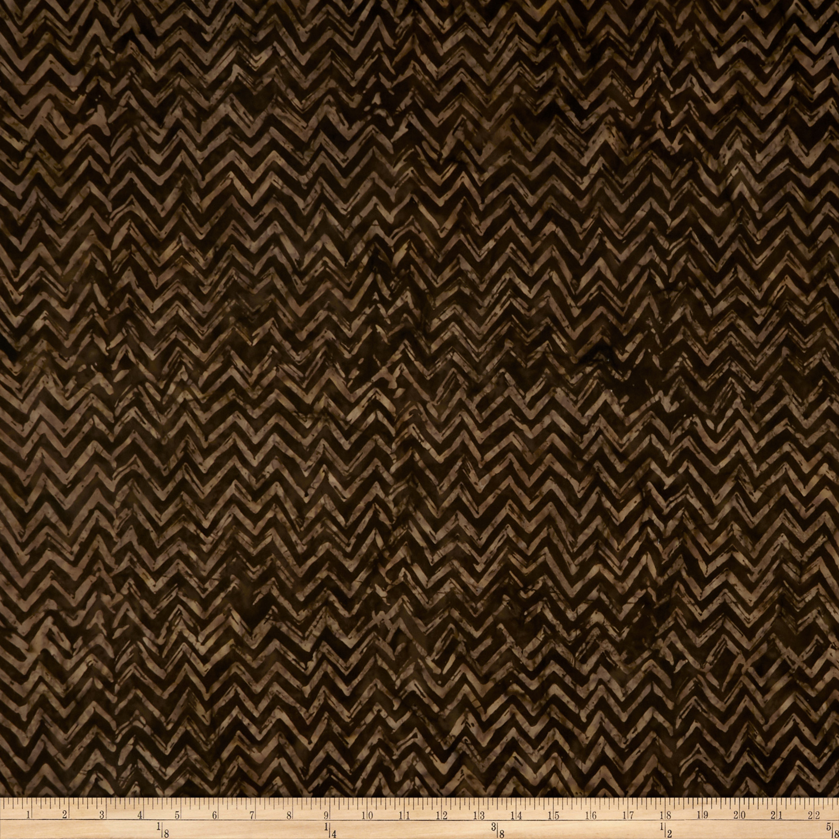 Anthology Batiks Chevron Soil Fabric