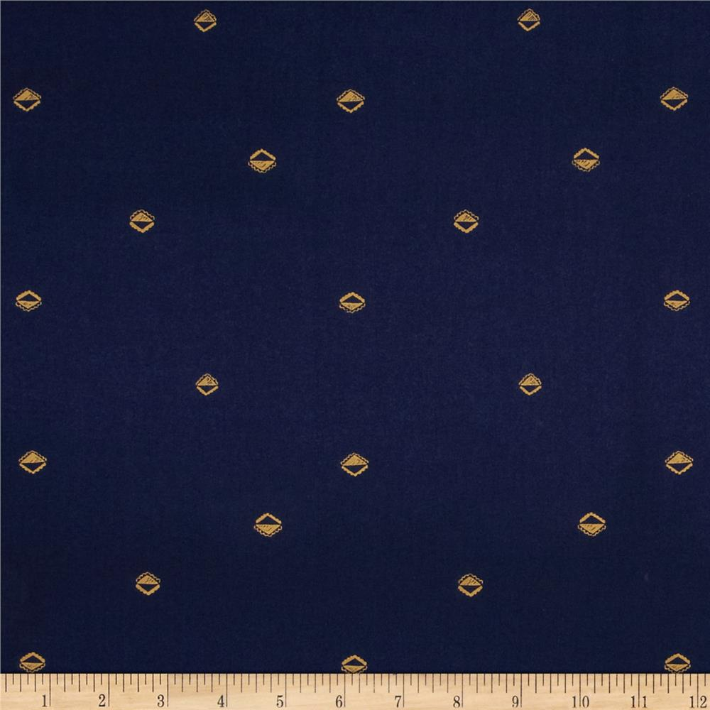 Cotton & Steel Mesa Lawn Sunrise Navy