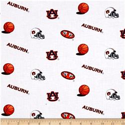 Collegiate Cotton Broadcloth Auburn University