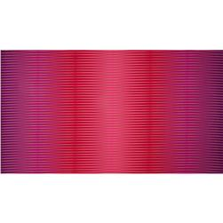 Harlequin Metallic Uneven Mirror Stripe Fuchsia Fabric