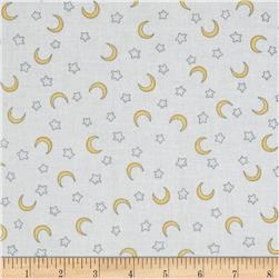 Sweet Pea Moons & Stars White