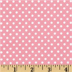 Moda Dottie Small Dots Pink