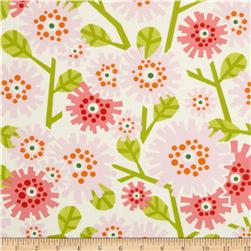 Heather Bailey Clementine Dandybloom Pink Fabric