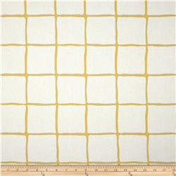 Dwell Studio Painted Check Citrine