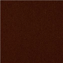Kaufman Ventana Twill Solid Brown
