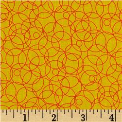 Intertwined Circles Yellow