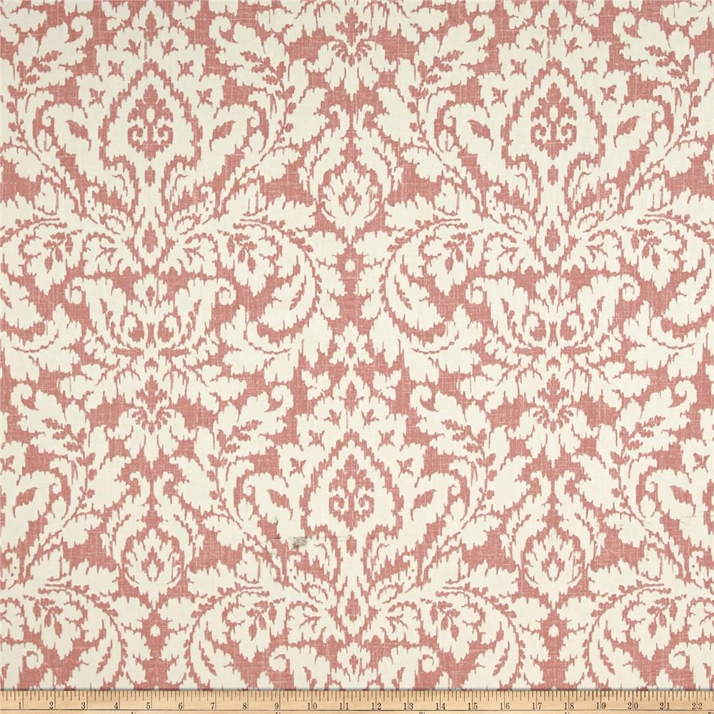 Waverly Dashing Damask Blush Duck