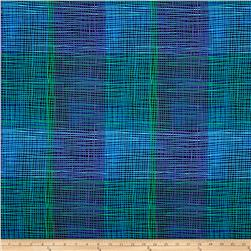 Mariposa Meadow Plaid Blue/Green