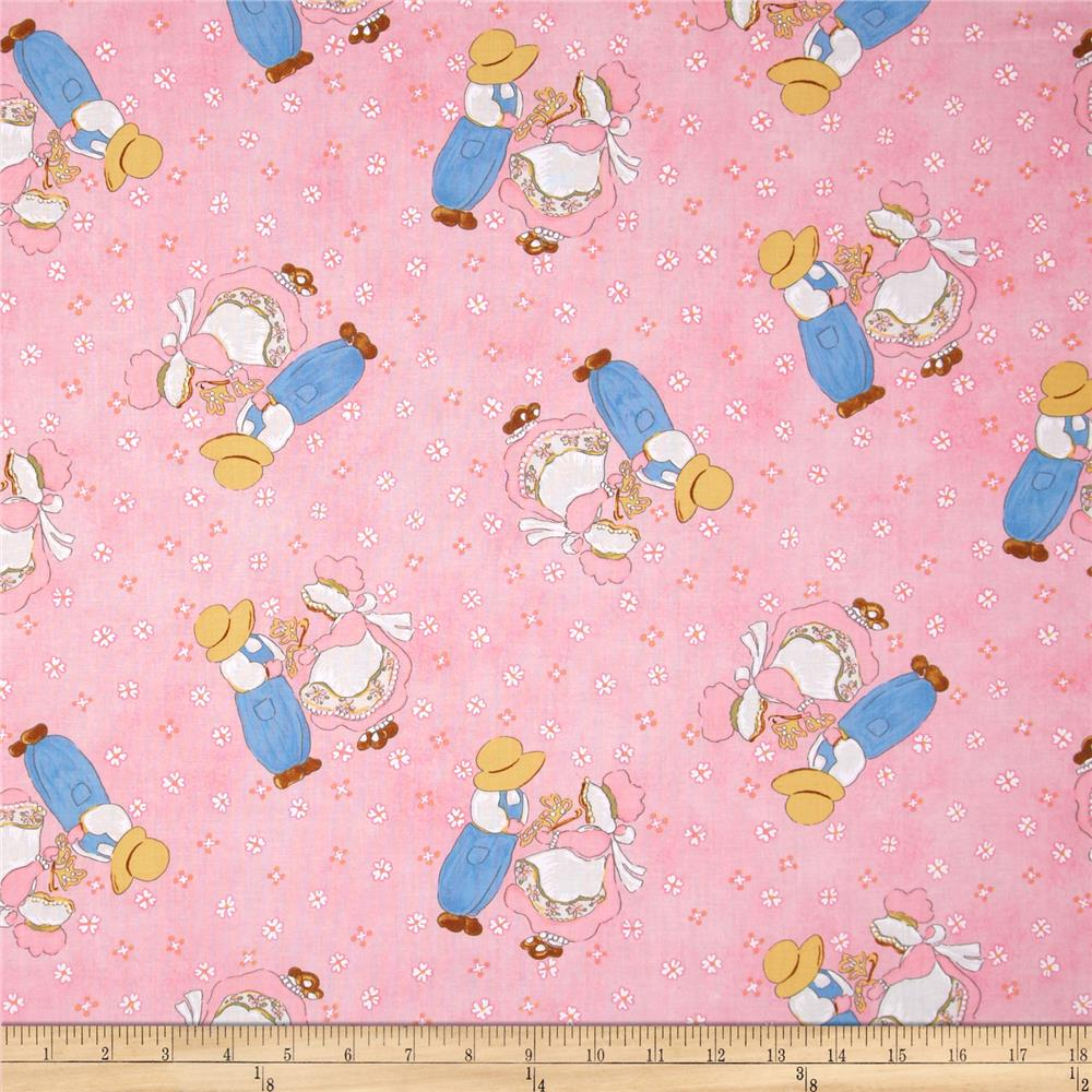 Sugar and spice children pink discount designer fabric for Wholesale childrens fabric