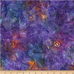 Michael Miller Batik Plume Grape Fabric
