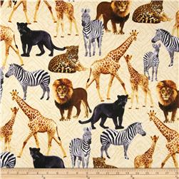 Kanvas Sew Rousseau Born To Be Wild Cream