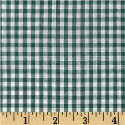 Gingham 1/8'' Checks Galore Green