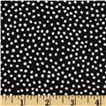 Flora Bleu Bitty Dots Black
