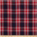 Hudson Bay Madras Plaid Navy/Red/White