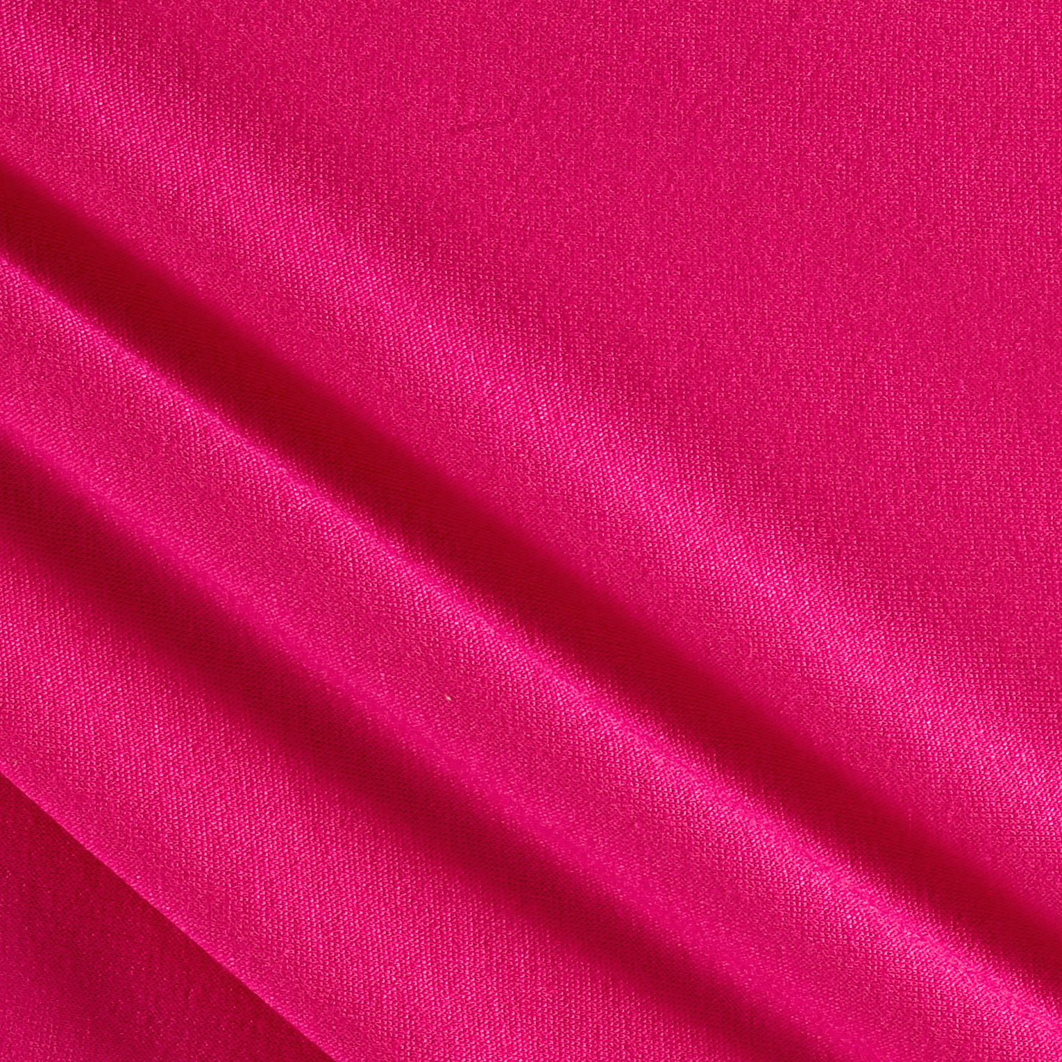 French Terry Knit Solid Fuchsia Fabric 0448290