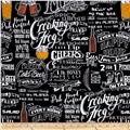 Pub Crawl Toile Black