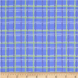 Mother Goose Tales Painted Plaid Green