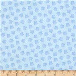 The Land Before Time Flannel Footprint Blue