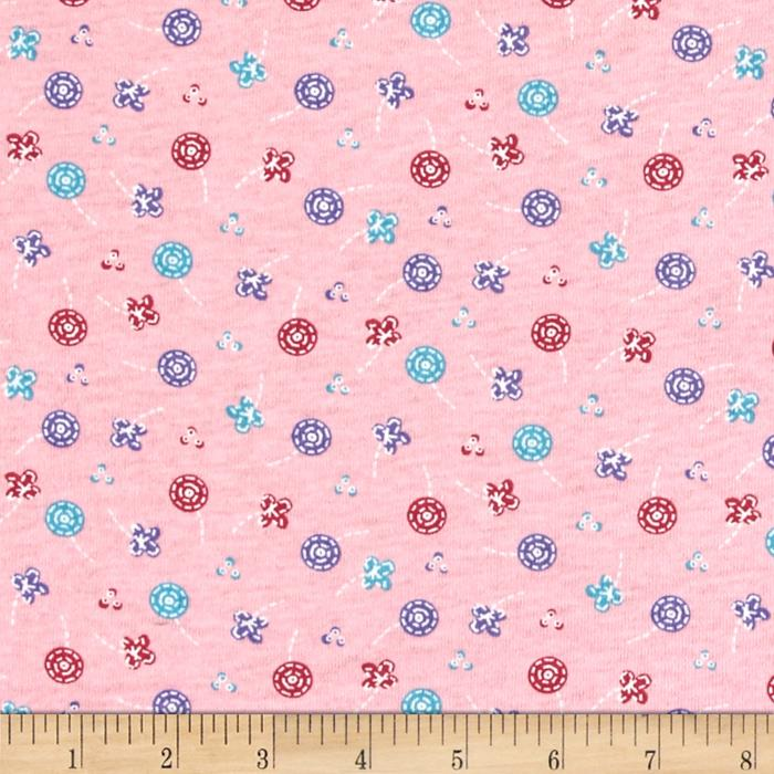 Children Cotton Knit Butterfly Pink