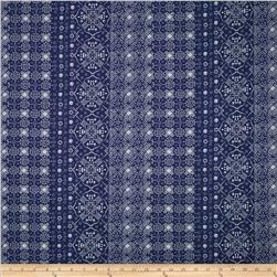 Liberty of London Rossmore Cord Agandca Navy Fabric