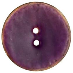 Genuine Coconut Button 1 5/8'' Arles Purple