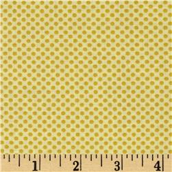 Moda Hello Petal Ditty Dots Delightful Yellow