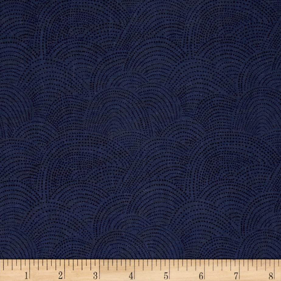 Dear Stella Dreamscape Scallop Dot Navy
