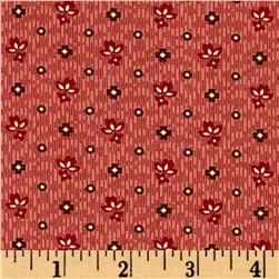 Windham Threads of Time Textured Leaf  Red