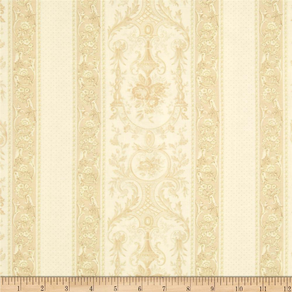 Garden Palette Fancy Stripe Cream