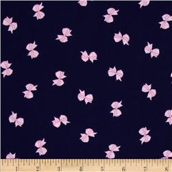Michael Miller Cynthia Rowley Oh Baby Bows Navy