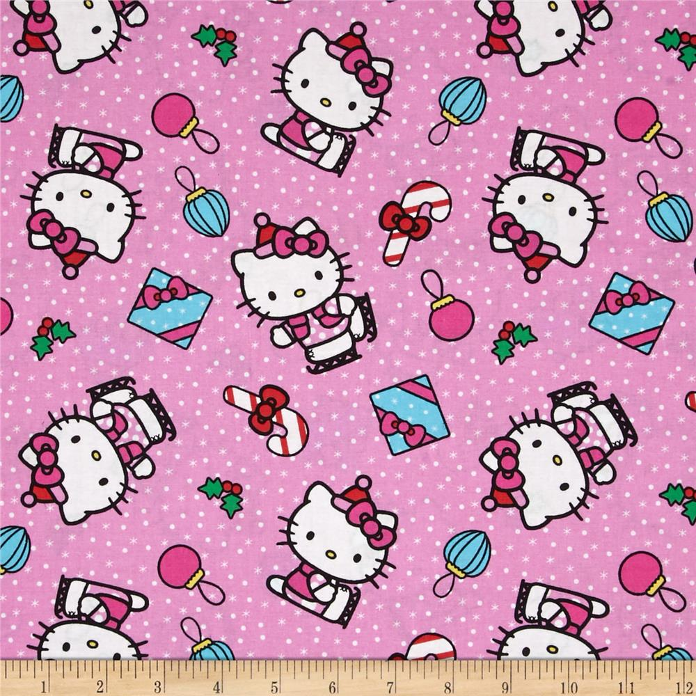 Christmas Hello Kitty Present Toss Pink