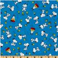 Happiness Is…Peanuts Snoopy & Woodstock Blue