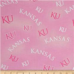 Collegiate Cotton Broadcloth Kansas Pink