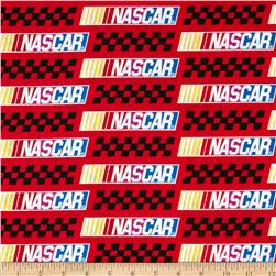 Nascar Allover Colored Nascar Bars Red