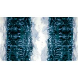 Enchanted Pines Forest Double Border Glacier