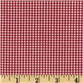 "Imperial 60"" Gingham 1/16"" Red"