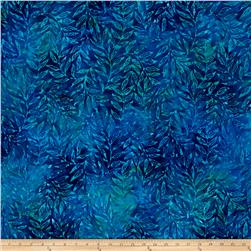 Kaufman Totally Tropical Batik Palm Branches Caribbean