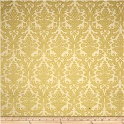 Christmas Tidings Metallic Damask Cream