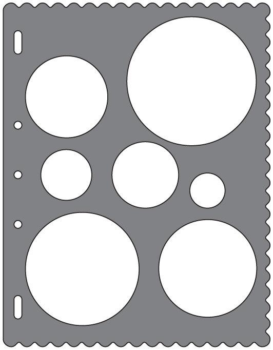 Fiskars Shape Template Circles