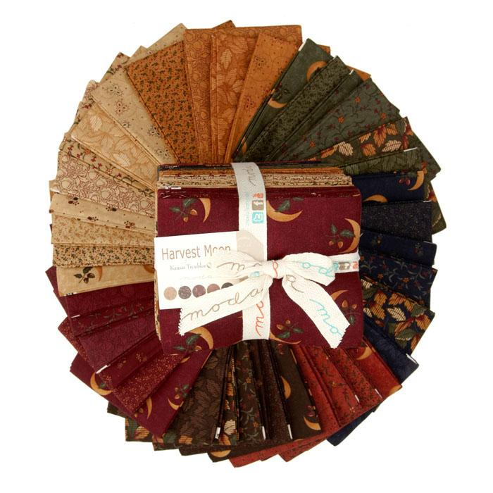 Moda Harvest Moon Fat Quarter Assortment