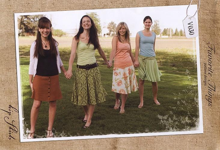 Favorite Things Hip Skirts Pattern