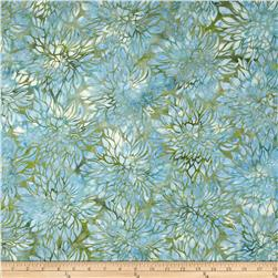 Bali Batiks Acres To Sew Floral Dewdrop Fabric