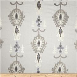 Swavelle/Millcreek Embroidered Statice Ikat Cloud