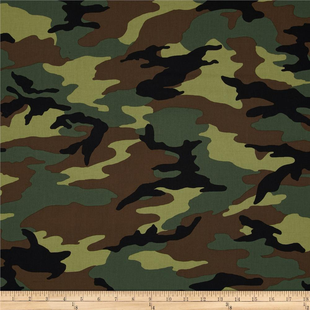 44'' Camo Army Camo Green Fabric from $7.62/yd | Fabric.com