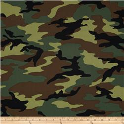 Camo Army Camo Green Fabric