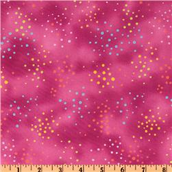 Laurel Burch Basics Color Dot Fuchsia