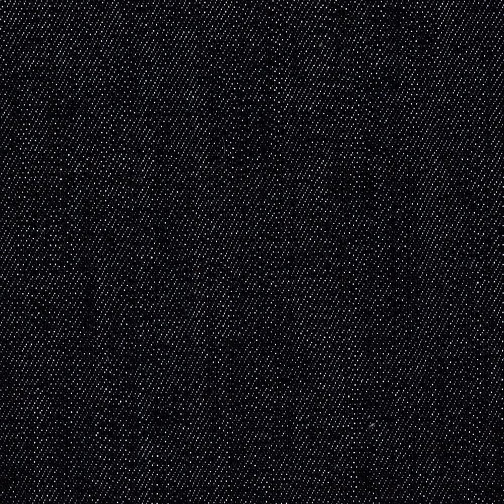 Stretch Denim Medium Wash Old School Black